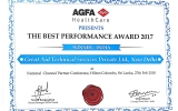 AGFA The Best Performance award 2017